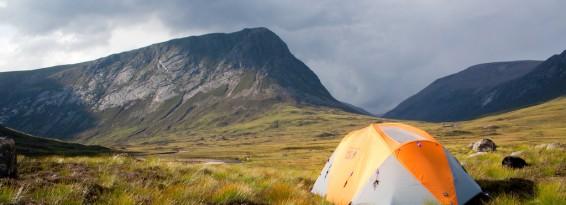 Camping in Himalayas